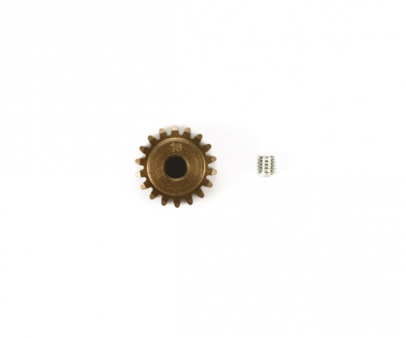 Pinion Gear Coated Alu 18T M0.6