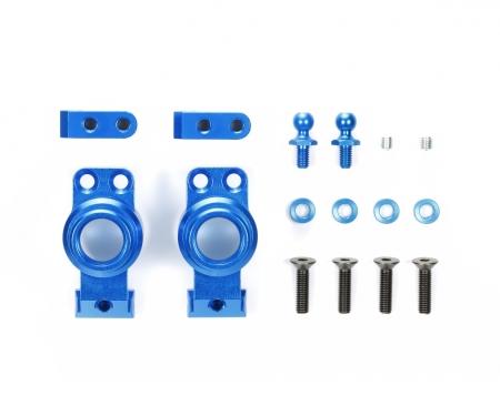 M-07C Alu Achsschenkel hin. (2) blau