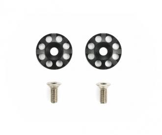 Aluminum Wing Washers (2) Black