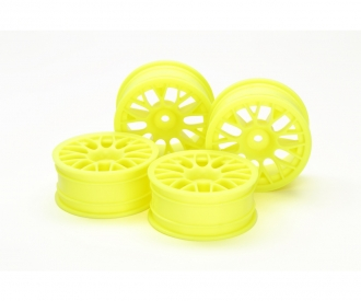 1:10 Mesh Wheels +2 FlYel (4) 24mm