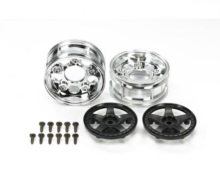2-Piece 5-Spoke Wheels *2 Bla