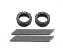 1:10 Reifen (2) Rally Block weich 26mm