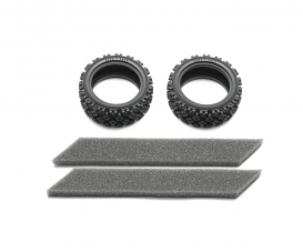 1:10 Rally Block Tire Soft *2 26mm