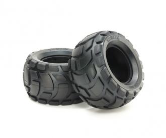 RndBlk R Bubble Tires Soft *2