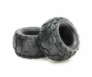 RndBlk R Bubble Tires Soft *2