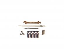 CC-02 Stahl Anlenkungs-Set einstellbar