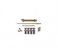 CC-02 SS Adjust Tie-Rod Set
