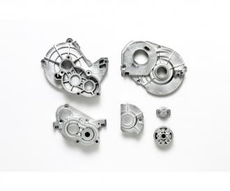 CC-02 A-Teile Getriebegeh. Silber matt