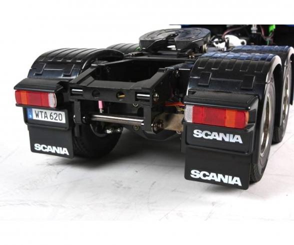1:14 RC Scania R620 6x4 Highl.blau lack.