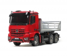 1:14 RC MB Arocs 3348 Tipper Red/Silver