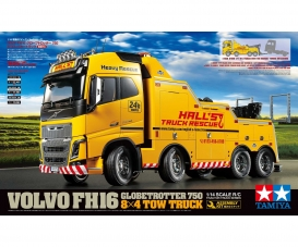1:14 RC Volvo FH16 Tow Truck 8x4