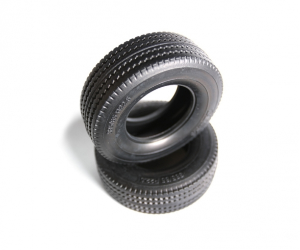 1:14 Tractor Truck Tire (2) hard / 30mm