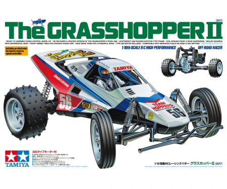 1:10 RC The Grasshopper II 2017