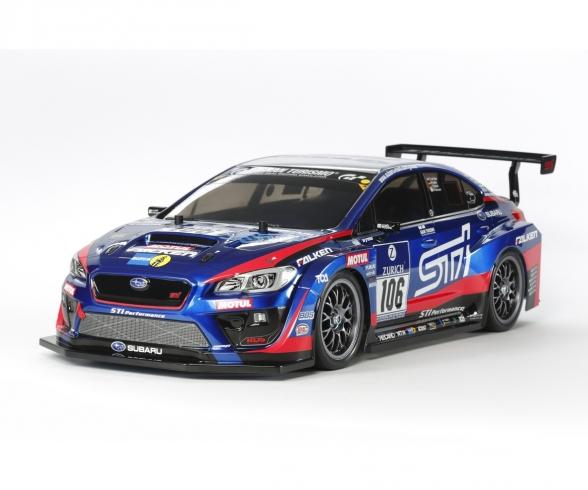 1:10 RC Subaru WRX STI 24hr Nrbg TT-02