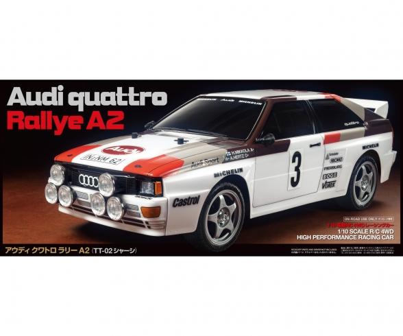 1:10 RC Audi Quattro Rally A2 (TT-02)