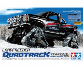 1:10 RC Landfreeder Quadtrack TT-02FT PB