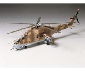 1:72 Mil Mi-24 Hind Helicopter