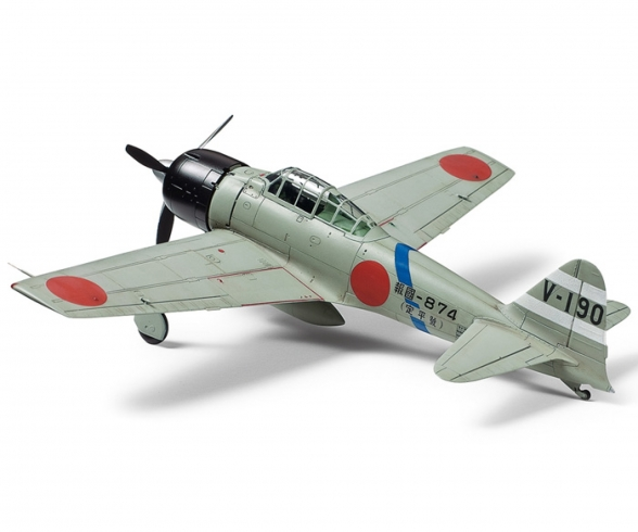 1:72 Mits. A6M3 Zero Fighter Mo. 32 Hamp