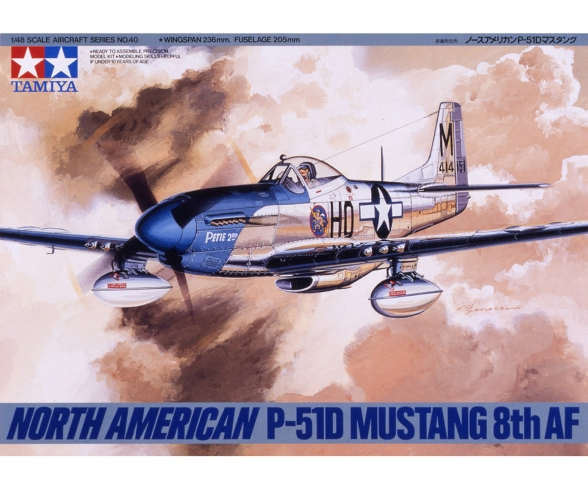 1:48 US P-51D Mustang North American