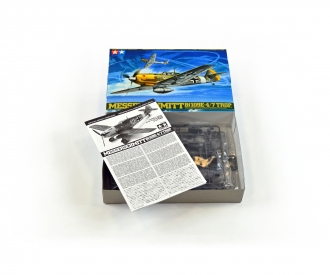 1:48 WWII Messerschmitt BF109E-4/7 Trop