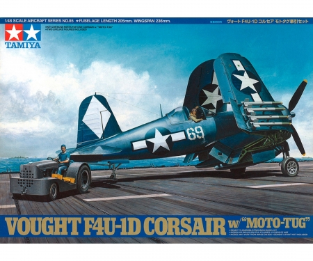 1:48 US Vought F4U-1D Corsair m. Schlep.