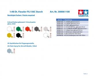 1:48 Dt. Fieseler FIL156C Storch