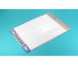 Kst-Platte 0,3mm (5) weiß 257x364mm