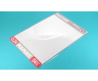 Kst-Platte 0,2mm (5) klar 257x364mm