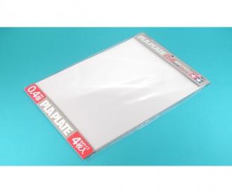 Clear Pla-Plate 0.4mm B4 *4