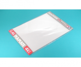 Kst-Platte 0,4mm (4) klar 257x364mm
