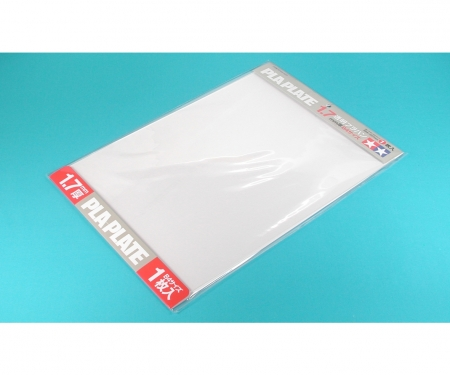 Clear Pla-Plate 1.7mm B4 *1
