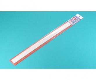 Rundprofil 2mm (10) 400 mm weiß Kst.