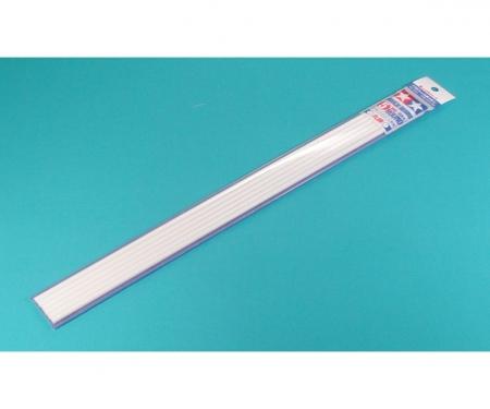 Rundprofil 5mm (6) 400 mm weiß Kst.