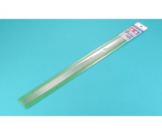Clear Plastic Beam 3mm Pipe *6
