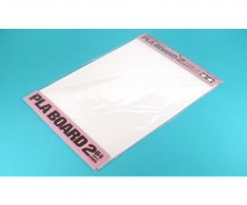 Pla-Board 2mm B4 (2) white 257x364mm
