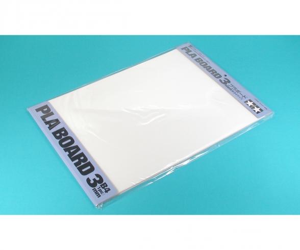 Pla-Board 3mm B4 (1) white 257x364mm