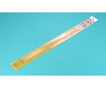 Clr. Soft Pla-Beam 2mm Round*6