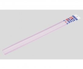 Vierkantprofil 1x1mm (10) 400mm w.Kst.