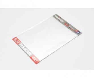Clear Pla-Plate 0.3mm B4 (4) 257x364mm