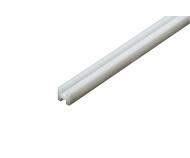 H-Profil 3x3mm (5) 400mm weiß Kst.