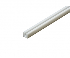 Plastic Beams 3mm U (5) white