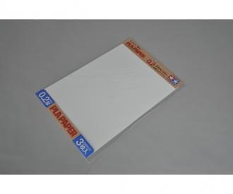 Pla-Paper 0.2mm B4 (3) white 257x364mm
