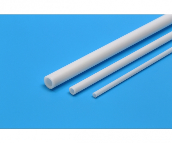 Plastic Beams 3mm Pipe (6) white