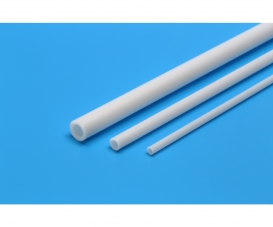Plastic Beams 5mm Pipe (5) white