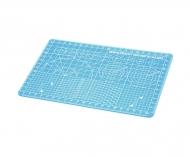 Schneidunterlage DIN A5/Blau 150x220mm