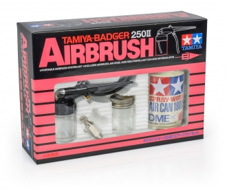 TAMIYA-Badger 250 II Airbrush-Set
