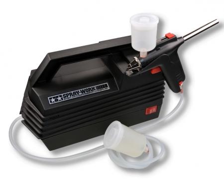 Tamiya Spray-Work Basic mit Kompressor