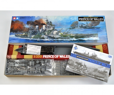 1:350 WWII Brit.Kampfsch.Prince of Wales