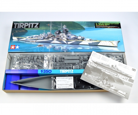 1:350 1:350 Dt. Schlachtschiff Tirpitz