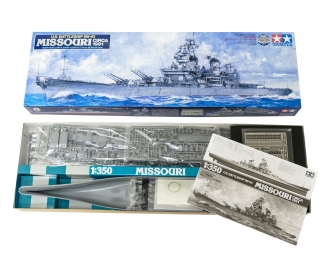 1:350 US Schlacht. BB-63 Missouri ('91)